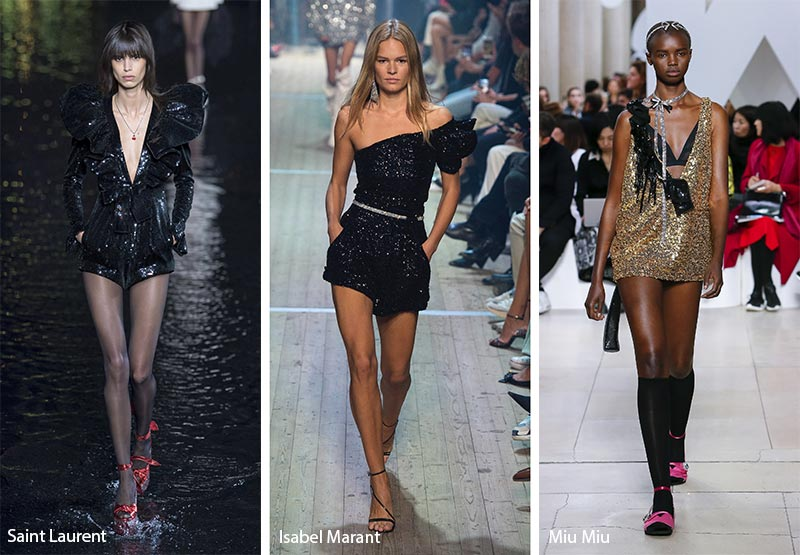Spring/ Summer 2019 Fashion Trends: Sequins