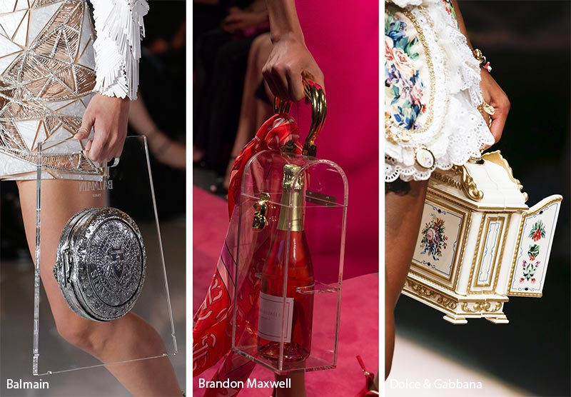 Spring/ Summer 2019 Handbag Trends: Bizarre Unique Bags