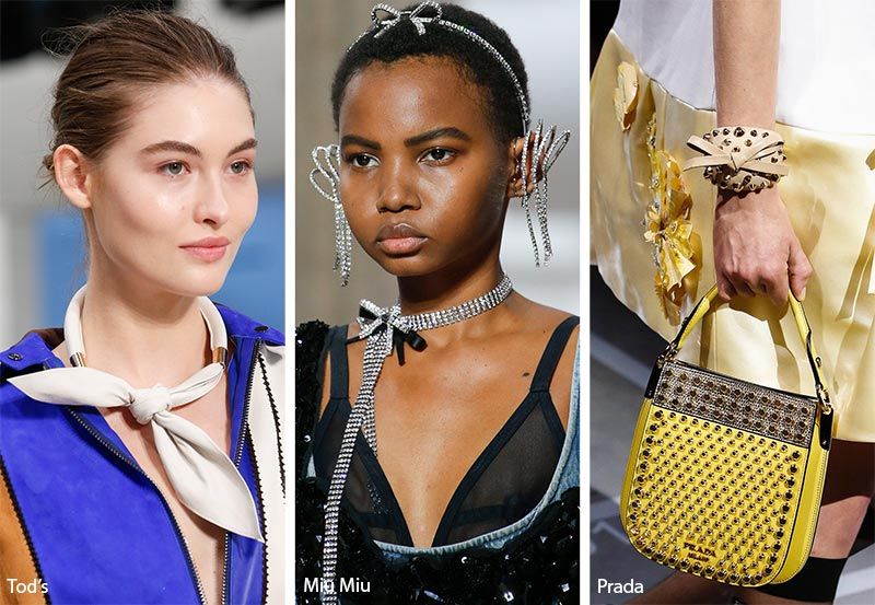 Spring/ Summer 2019 Jewelry Trends: Bow Jewelry