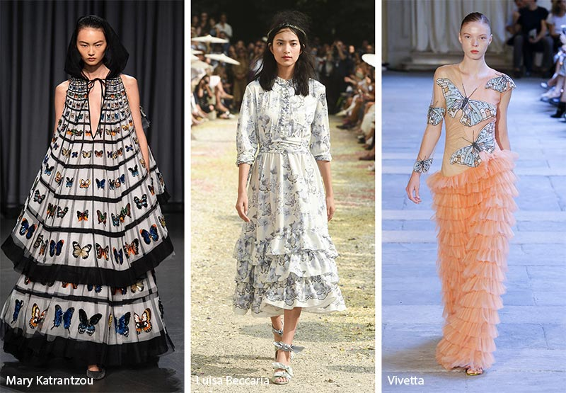 Spring/ Summer 2019 Print Trends: Butterfly Prints