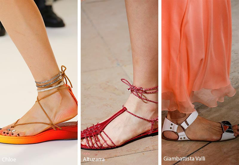Spring  Summer 2019 Shoe Trends  Spring 2019 Runway Shoes 32c3c9d5a545