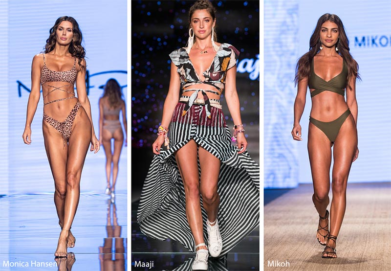 Spring/ Summer 2019 Swimwear Trends: Criss-Cross Bikini Tops