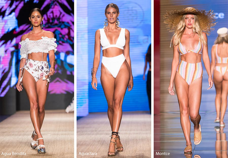 Spring/ Summer 2019 Swimwear Trends: High Waisted Bikini Bottoms
