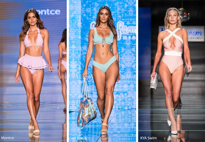 Spring/ Summer 2019 Swimwear Trends: Pastel Swimsuits & Bikinis
