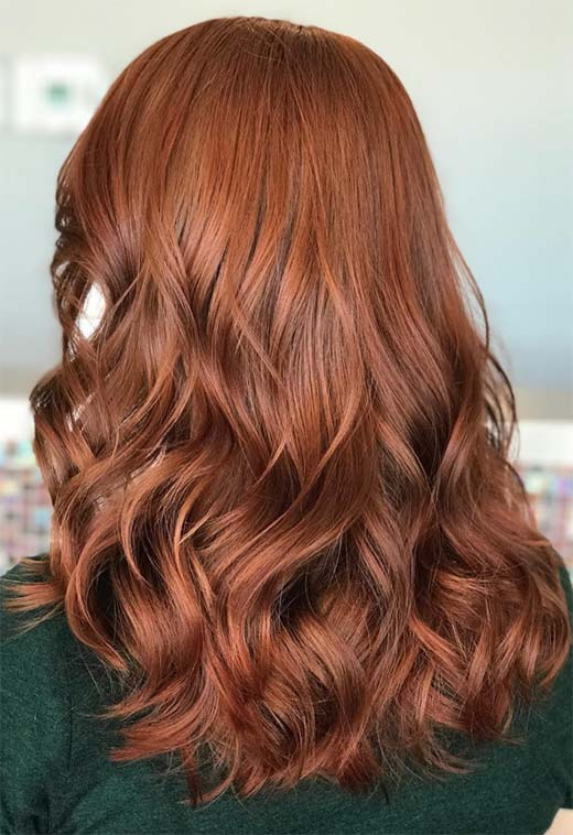 55 Auburn Hair Color Shades To Burn For Auburn Hair Dye