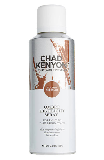 Best Hair Glaze Products: Chad Kenyon Golden Chestnut Ombré Highlight Spray