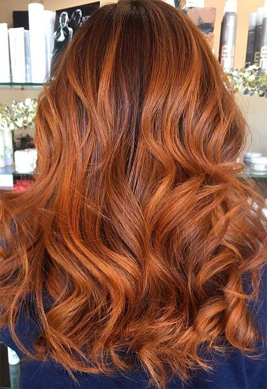 Copper Hair Color Shades: Copper Hair Dye Tips