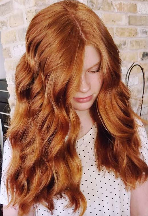 Fashion Tips for Copper Hair