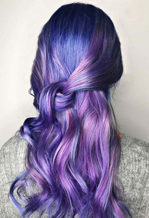 How to Choose the Perfect Violet Hair Color for Your Skin Tone