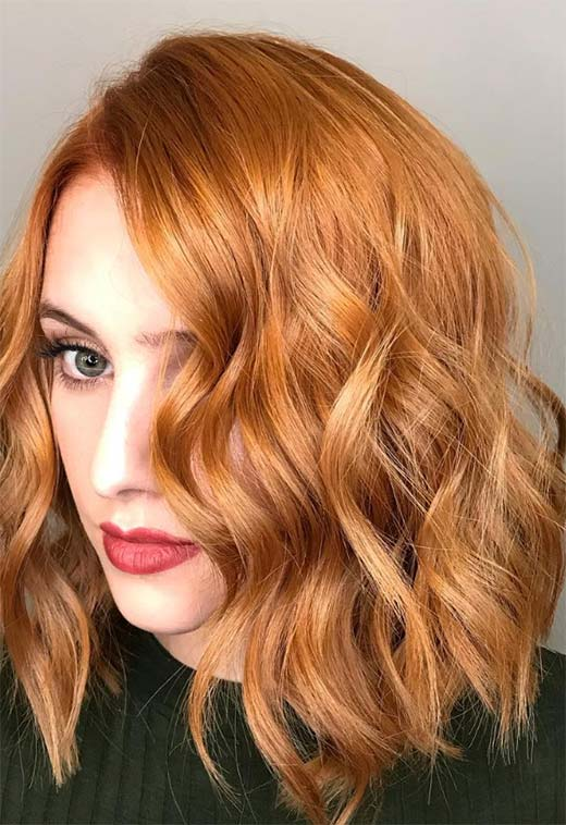 How to Color Hair Ginger