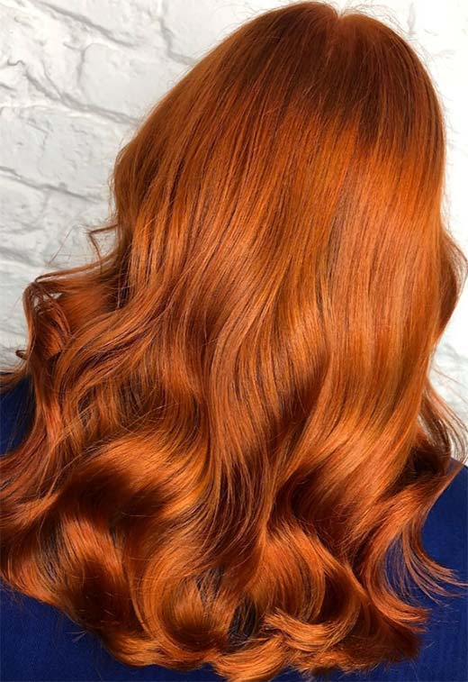 How to Dye Hair Copper