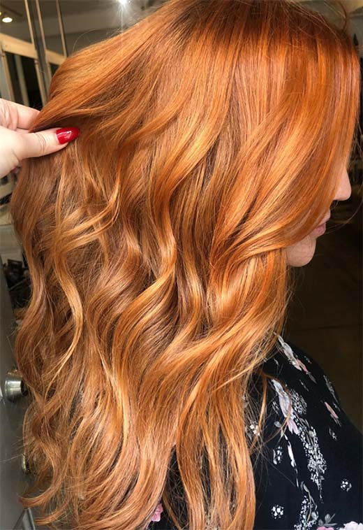 How to Dye Hair Ginger