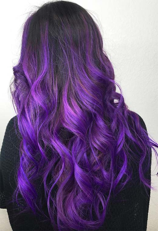 How to Dye Your Hair Violet