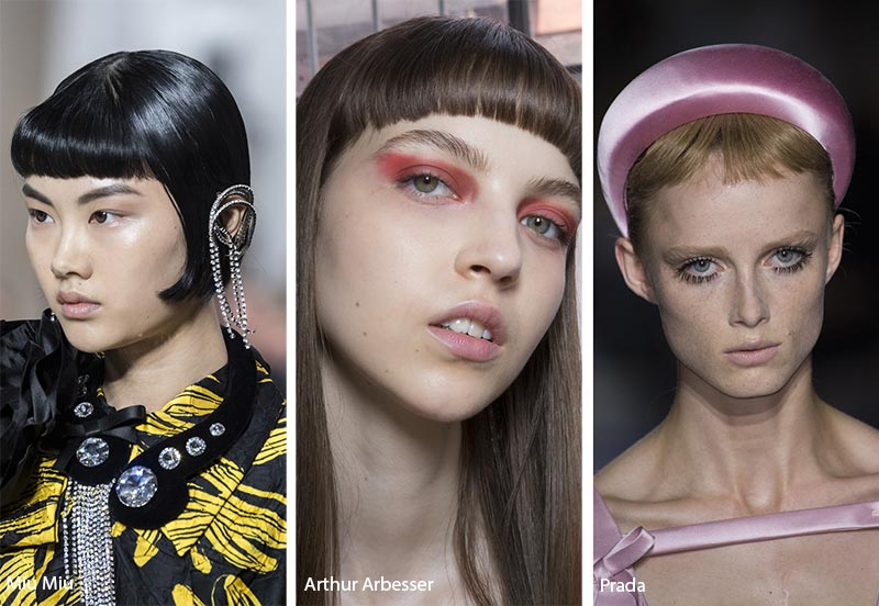 Spring/ Summer 2019 Hairstyle Trends: Baby Bangs