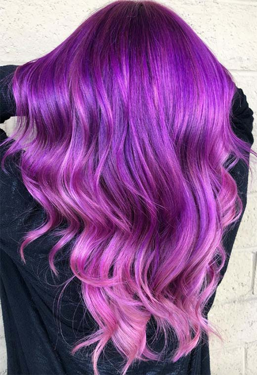 63 Purple Hair Color Ideas To Swoon Over Violet Purple Hair Dye Tips,Best Places To Travel In November Outside The Us
