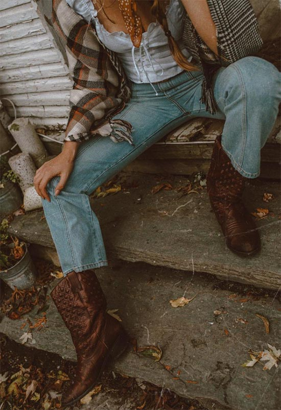 Wild West Cowboy Boots Fashion History