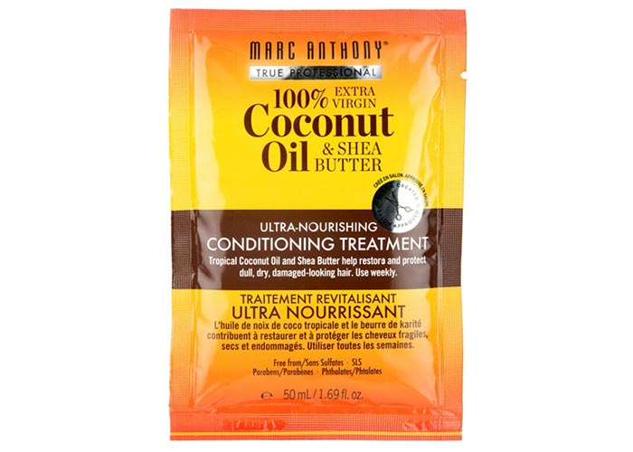 Best Coconut Oil Hair Mask Products: Marc Anthony Hydrating Coconut Oil & Shea Butter Nourishing Treatment
