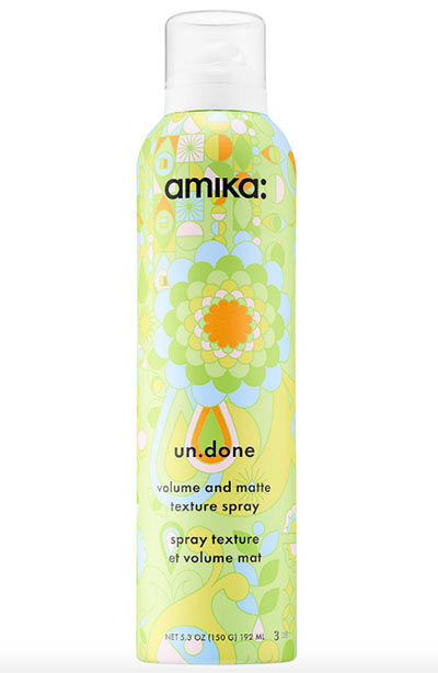 Best Volumizing & Texturizing Sprays: Amika Un.Done Volume and Matte Texture Spray