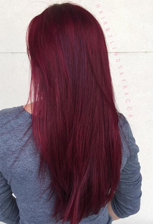 How to Maintain Your Burgundy Hair Color?