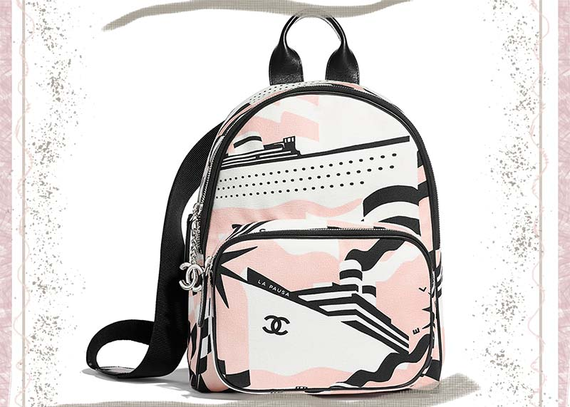 Best Chanel Backpacks: Nautical Chanel Backpack