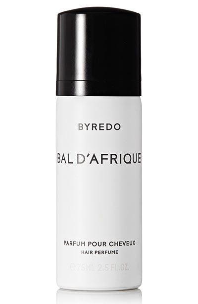 Best Hair Perfumes & Scented Hair Mists: Byredo Bal d'Afrique Hair Perfume