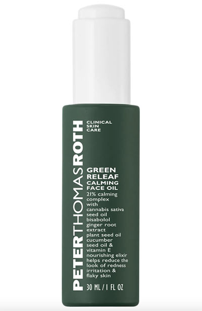 Best Hemp Seed Oil Products for Skin: Peter Thomas Roth Green Releaf Calming Face Oil