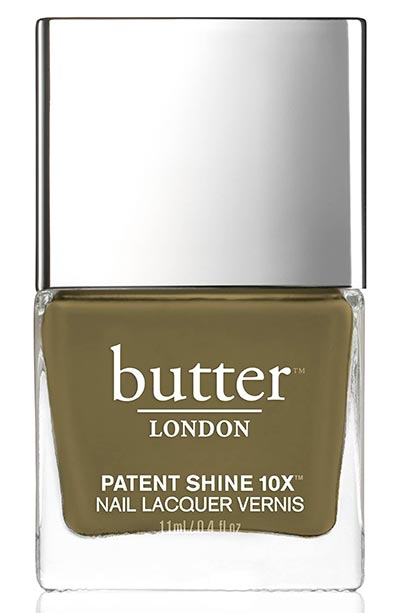 Winter Nail Colors: Butter London Winter Nail Polish in British Khaki