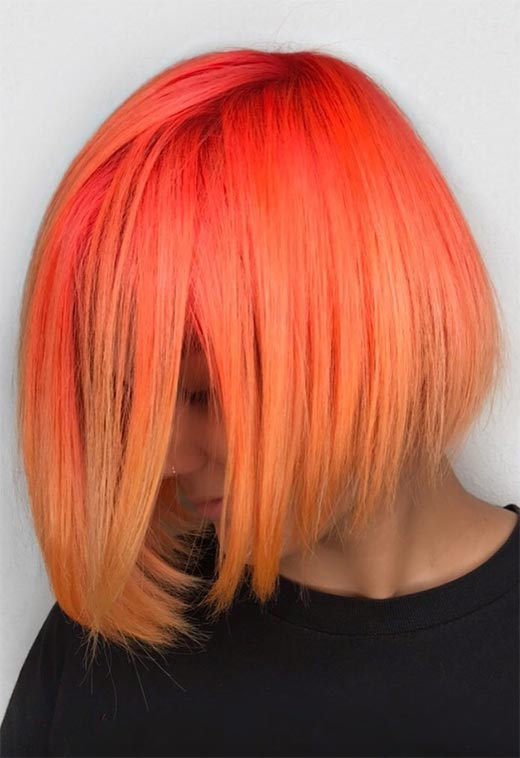 How to Care for Orange Hair Color