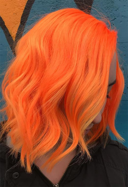 How to Maintain Orange Hair Color