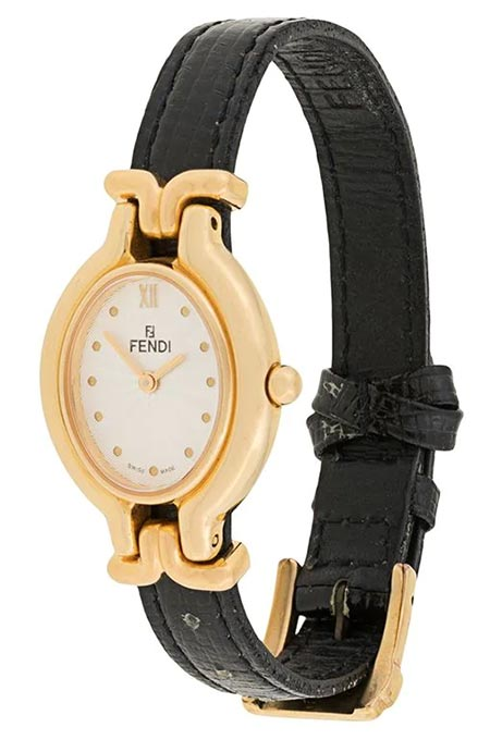 Valentine's Day Fashion Gifts for Her: Fendi Vintage Quartz Wristwatch