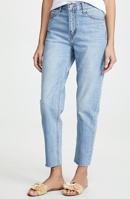 Best High Waisted Jeans: Levi's High Waisted Mom Jeans