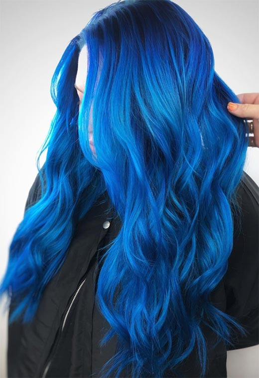 Blue Hair Dye Maintenance Tips