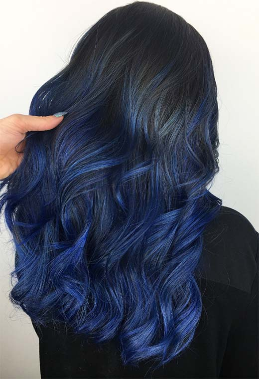 Blue Hair Dyeing Tips at Home