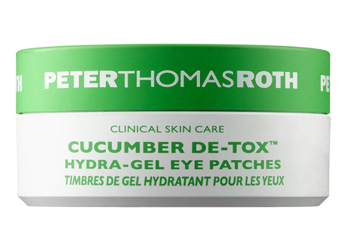 Glycerin for Skin Care Products: Peter Thomas Roth Cucumber De-Tox Hydra-Gel Eye Patches