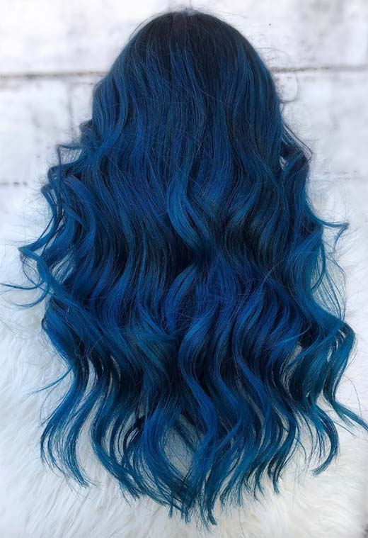 Makeup Tips for Blue Hair