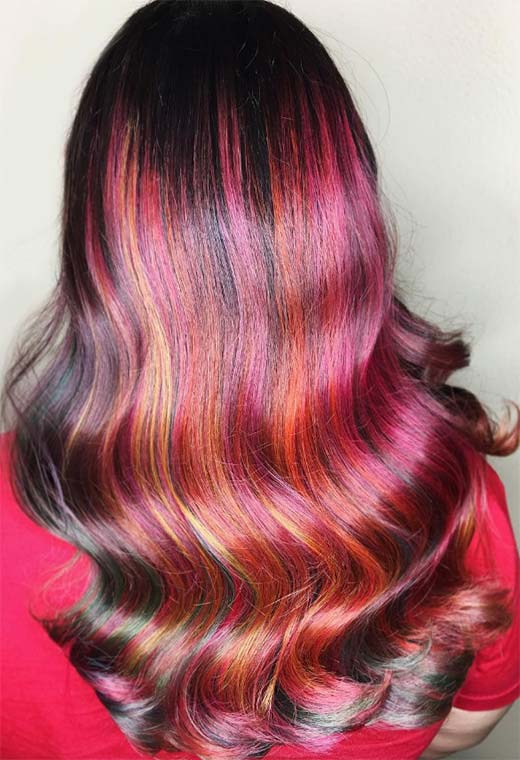 Sunset Hair Color Shades to Try