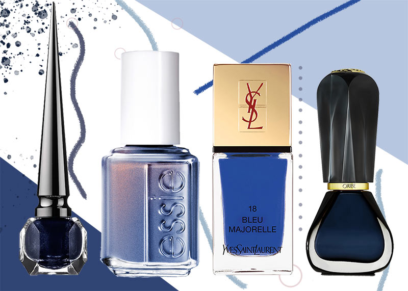 Blue Nail Polish Colors to Get: How to Pull off Blue Nails