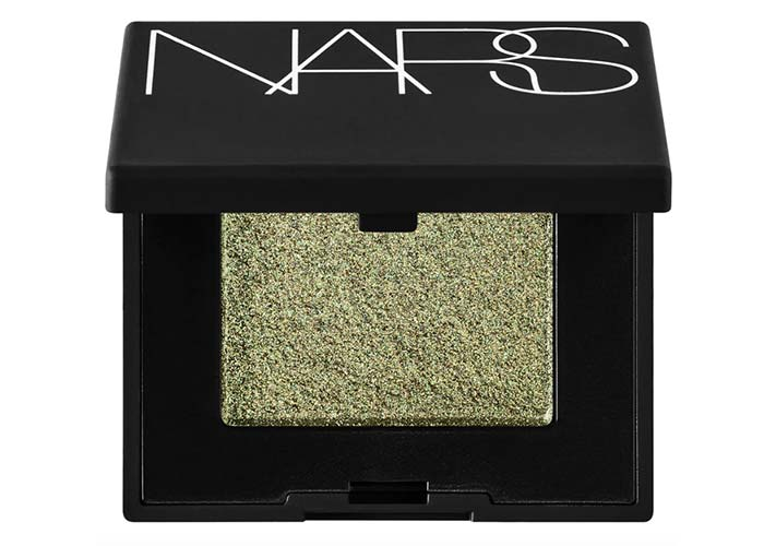 Best Green Eyeshadow Palettes & Singles: NARS Hardwired Single Green Eyeshadow in Goa