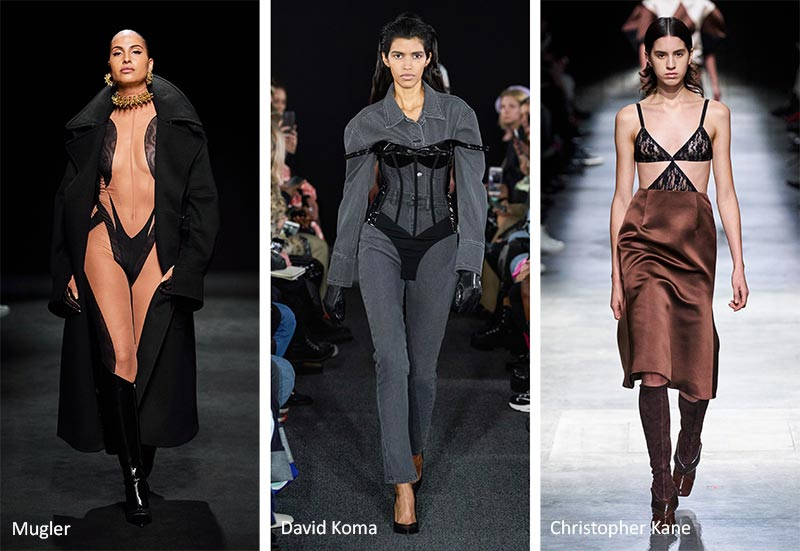 Fall/ Winter 2020-2021 Fashion Trends: Boudoir Intimate Wear