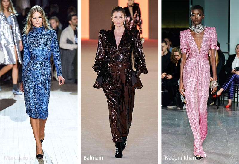 Fall/ Winter 2020-2021 Fashion Trends: Sequins & Paillettes