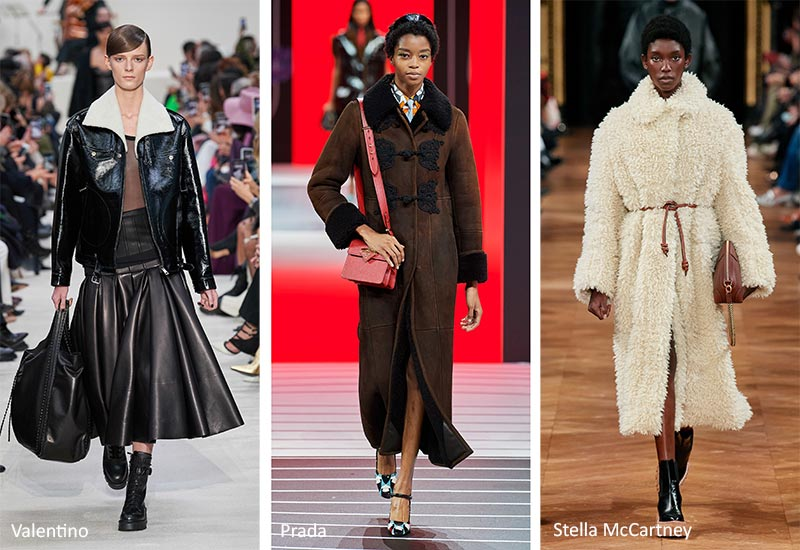 Fall/ Winter 2020-2021 Fashion Trends: Shearling