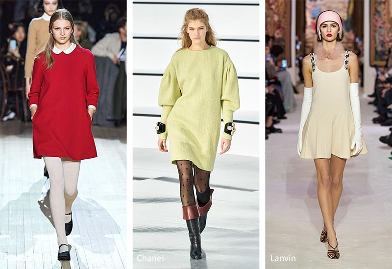 Fall/ Winter 2020-2021 Fashion Trends: Short, Loose Dresses