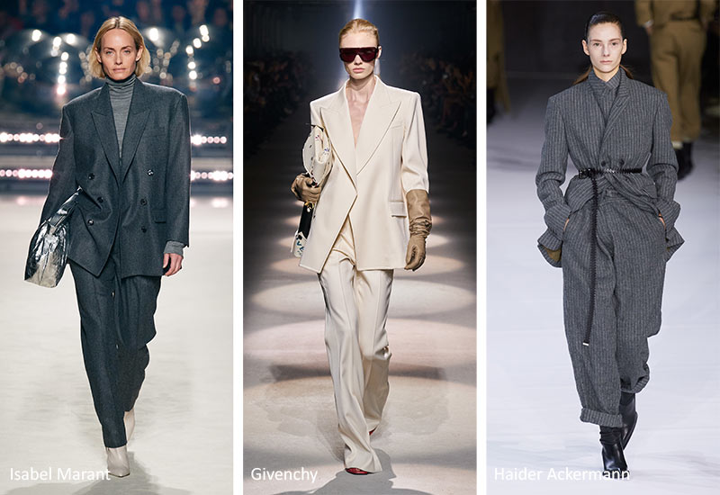 Fall/ Winter 2020-2021 Fashion Trends: Slouchy Suits