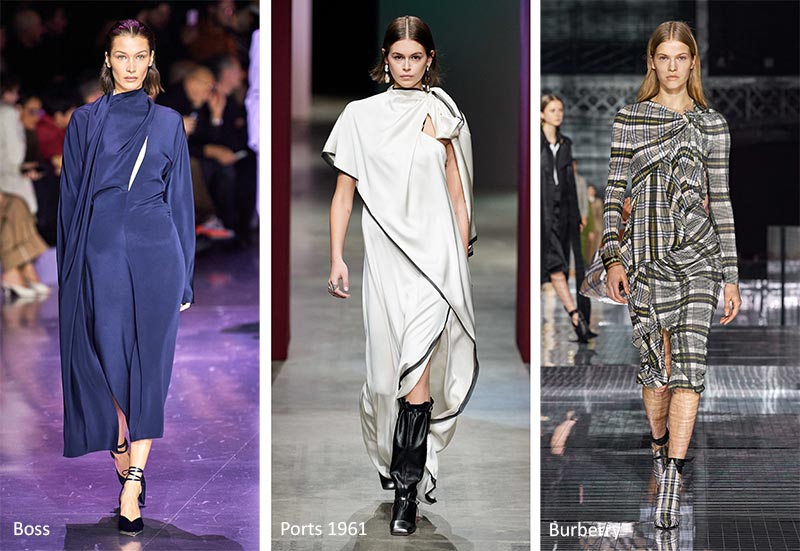 Fall/ Winter 2020-2021 Fashion Trends: Wrap-Around Dresses