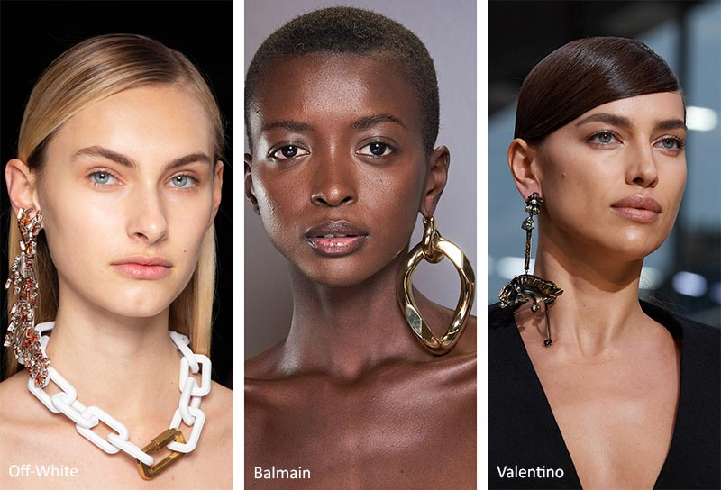 Fall/ Winter 2020-2021 Jewelry Trends: Oversized Single Earring