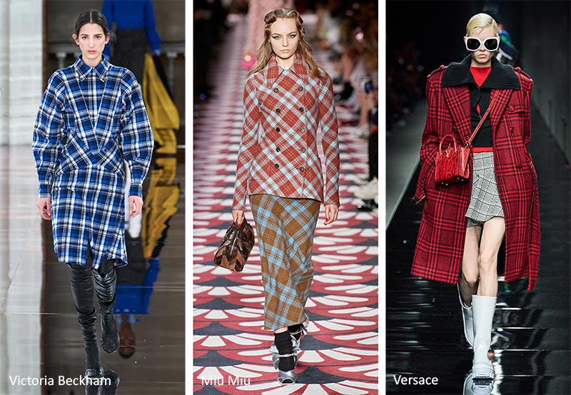 Fall/ Winter 2020-2021 Print Trends: Plaid & Tartan Patterns