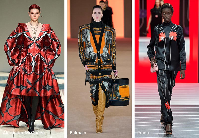 Fall/ Winter 2020-2021 Print Trends: Symmetrical Patterns