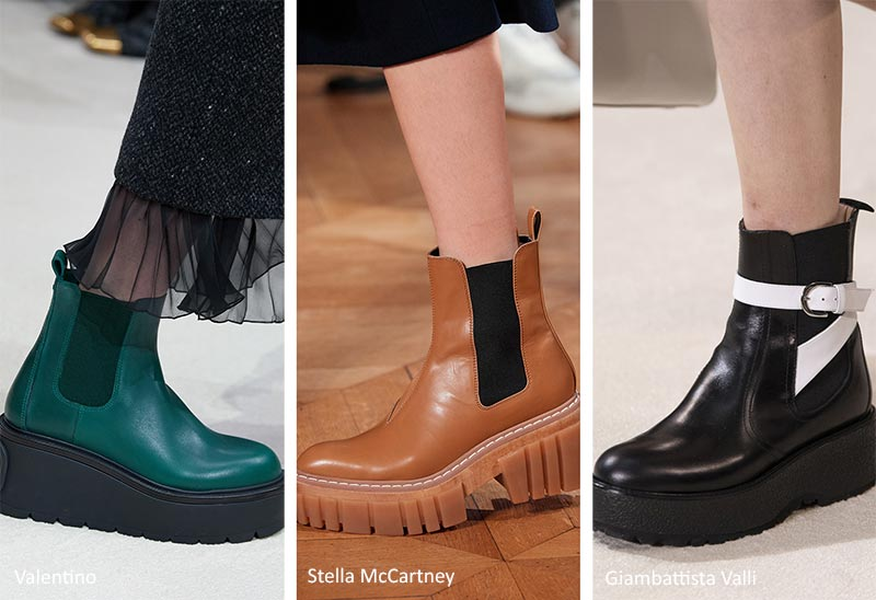 Fall/ Winter 2020-2021 Shoe Trends: Chelsea Boots
