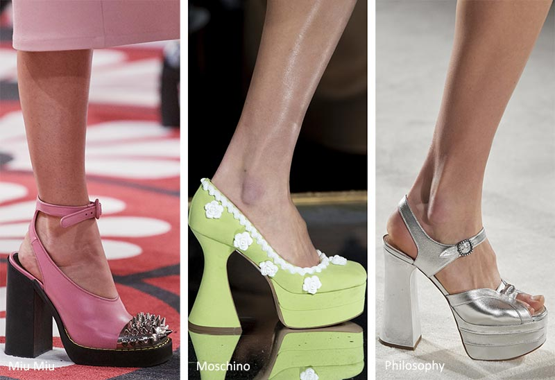 Fall/ Winter 2020-2021 Shoe Trends: Platform Heels
