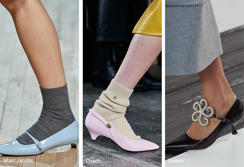 Fall/ Winter 2020-2021 Shoe Trends: Vintage Kitten Heels